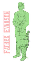father evanson - concept by dopaMEANmusic