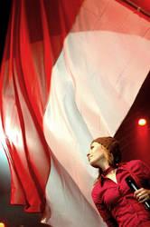 indonesian flag by theHafiz