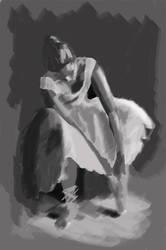 Ballet danseuse by vivvz