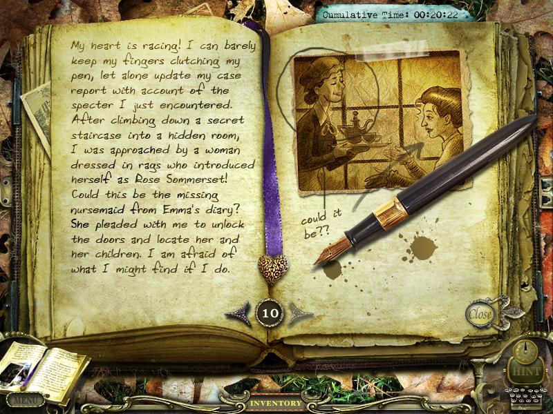 Return to Ravenhearst Journal 10 by InkHeart17