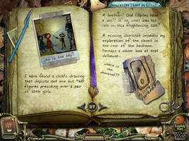 Return to Ravehearst Journal 27 by InkHeart17