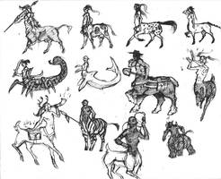 Centaur Concepts by Beastysakura