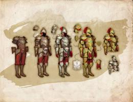 ElderScrolls Online: Redguard armor by Beastysakura