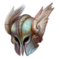 Helm of the Valkyrie by Beastysakura