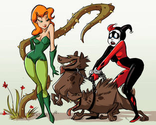 Harley and Ivy by basalt