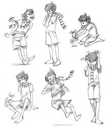 Action Poses by basalt