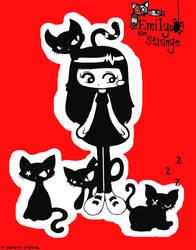 Emily the Strange by SararinDID