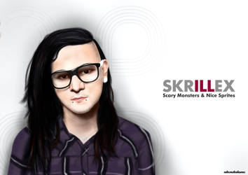 Skrillex by alendalone