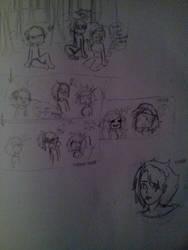 Random Sketches by bunnylove2