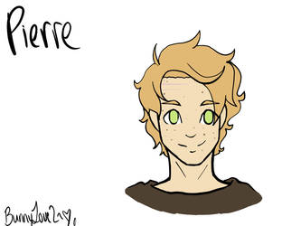 [Reference Sheet] Pierre by bunnylove2
