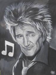 Rod Stewart by SketchMonster1