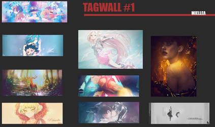 Tagwall #1 by Miellea-chan