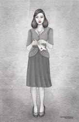 papergirl by fairlightedzoe