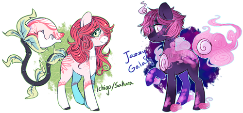 Plant Pony + Solutai Pony {Auction - Closed} by S-Adopts