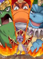 Spyro - Trilogy of the Dragon by TheFresco