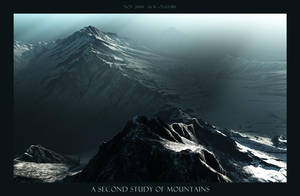 A Second Study of Mountains by oggyb