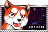 Orion stamp by GingaChani