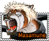 Masamune stamp by GingaChani