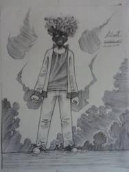 Inktober 5 -Smokes by robert2715