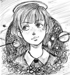 Jenny (sketch) by robert2715