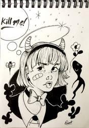 Demon Girl by robert2715