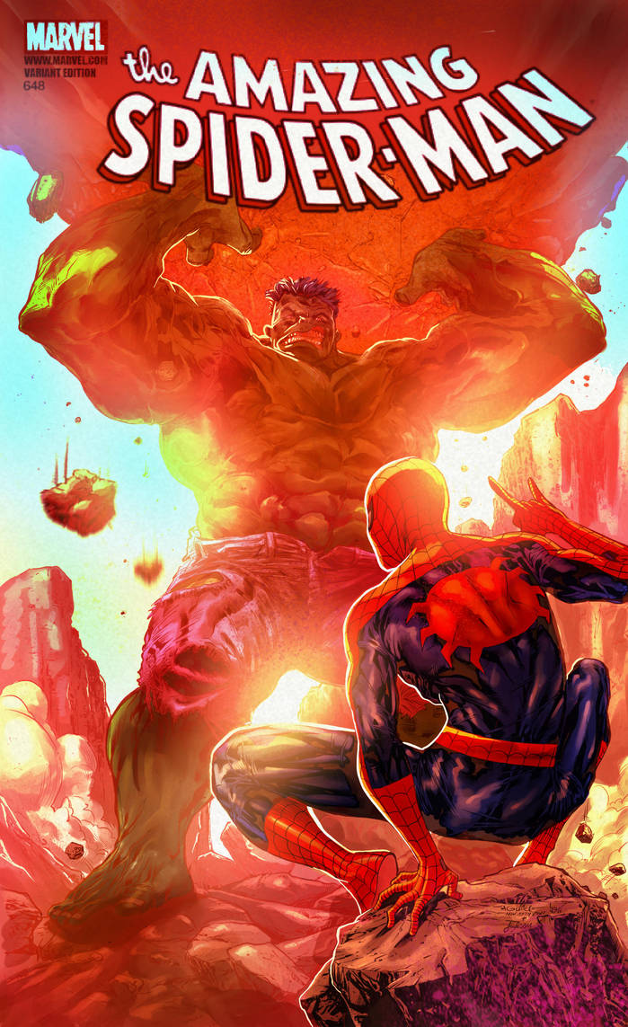 Spidey and hulk by judson8