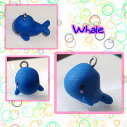 Whale Charm by silver-of-the-star