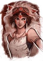 Princess Mononoke by Grimhel