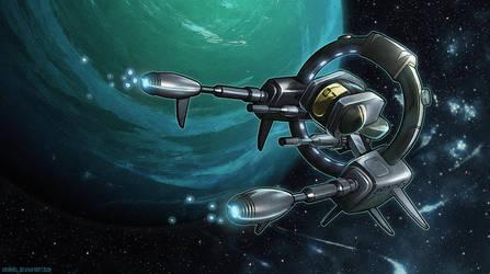 Spaceship by Grimhel
