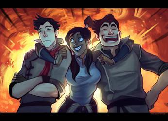 Team Avatar by Grimhel
