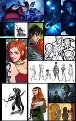 Sketchdump Part2 by Grimhel