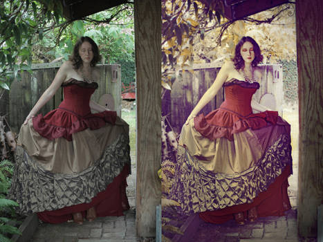 Retouch Autumns Welcome by TEMPERATE-SAGE