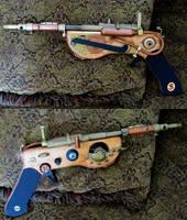 Steampunk Ray Gun  'The Singer' by zimzim1066
