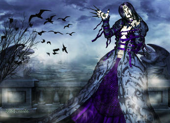 The witch of the night by Avia-Sunanda