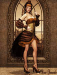 Lady The Courtesan by Avia-Sunanda