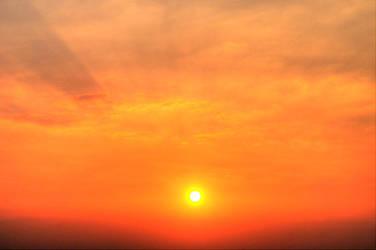 Sunrise 03-04-2011 HDR 4 by fr1man