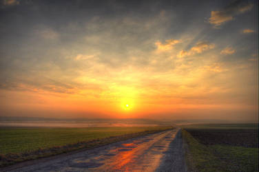 Sunrise 03-04-2011 HDR 5 by fr1man