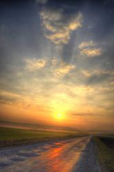 Sunrise 03-04-2011 HDR 6 by fr1man