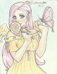 Fluttershy by KimiCookie