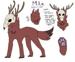 Mile (2nd Fursona!!) Ref by furryp0rn