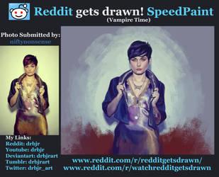 Reddit Gets Drawn- niftynonsense W/Video by drbjrart