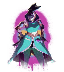 Overwatch:  Sombra - Spray #2 - W/Videos by drbjrart
