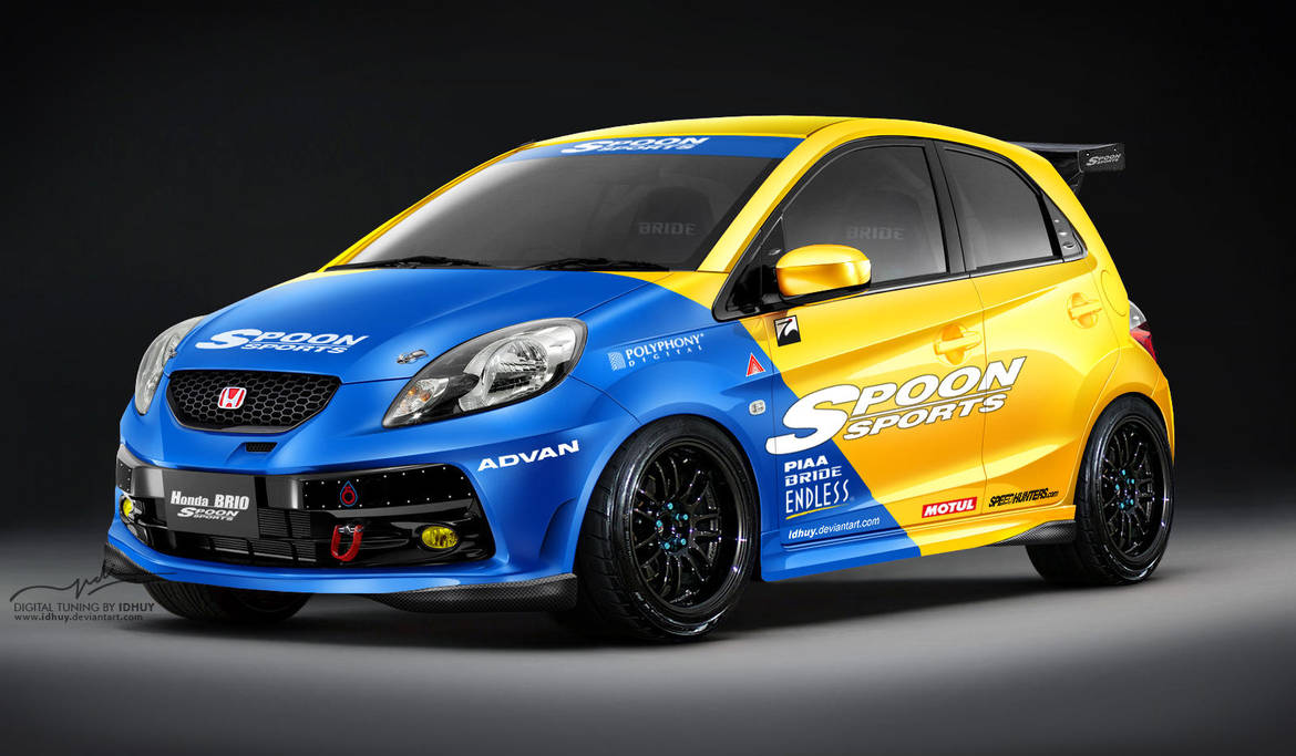 Honda Brio Spoon Sport By Idhuy On DeviantArt