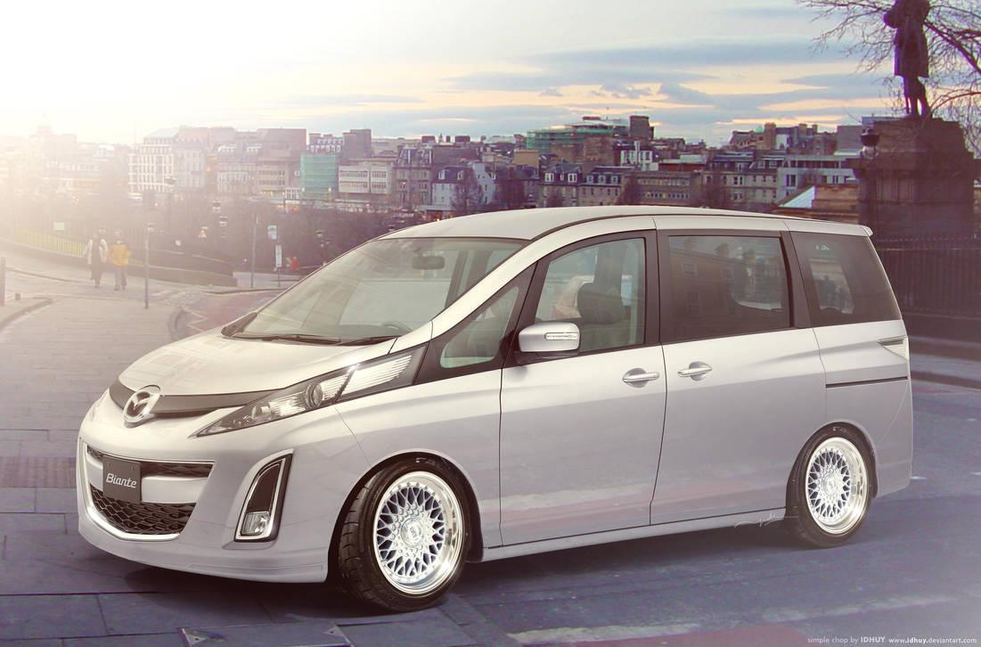 Mazda Biante by idhuy