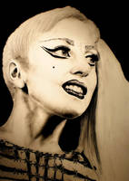 Lady Gaga EMA 2011 by dennyvitali93