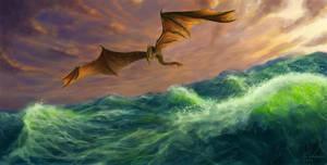 Wild sea by Meteorskies