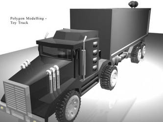 Toy truck by darkester