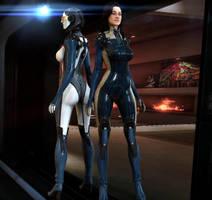Edi and Miranda by xkalipso