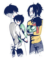 Mama Levi And Papa Hanji by k-ibun