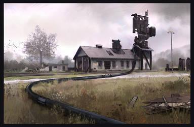 Trainstation by guchi
